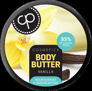 Cosmepick_Vanilla_regenerujące masło do ciała z wanilią, 200 ml_1