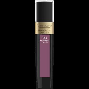 Pierre Rene_Matte Fluid Lipstick_pomadka w płynie do ust 03, 6 ml