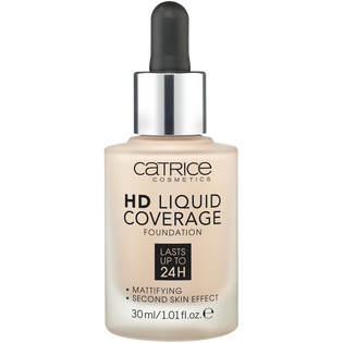 Catrice_HD Liquid Coverage_podkład do twarzy light beige 010, 30 ml