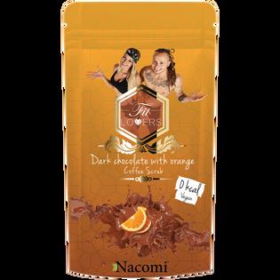 Fit Lovers By Nacomi_Ciemna czekolada z pomarańczą_antycellulitowy peeling do ciała, 300 ml