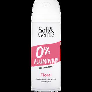 Soft And Gentle_Bez Aluminium_dezodorant bez aluminium o lekkim, letnim, różanym zapachu, 150 ml