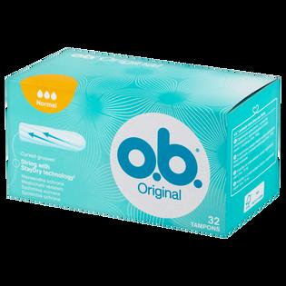O.B._Original Normal_tampony higieniczne, 32 szt./1 opak.