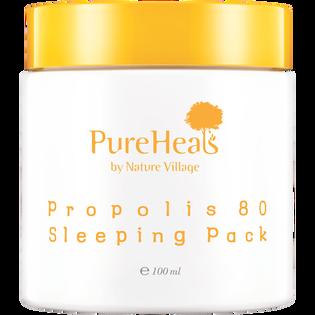 Pureheals_Propolis_odżywczo-rozświetlająca nocna maska to twarzy z propolisem, 100 ml_1