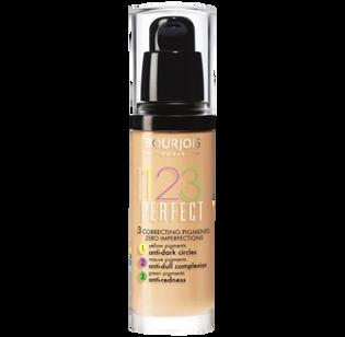 Bourjois_123 Perfect_długotrwały podkład kryjący vanilla 52, 30 ml