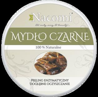 Nacomi_mydło czarne - peeling enzymatyczny do twarzy, 100 ml