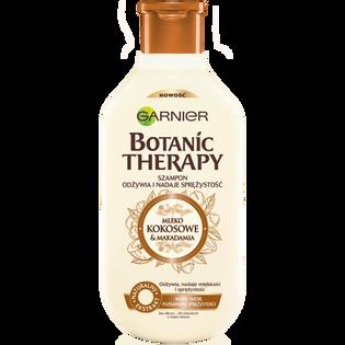 Garnier Botanic Therapy_Mleko Kokosowe & Makadamia_szampon do włosów suchych pozbawionych sprężystości, 400 ml