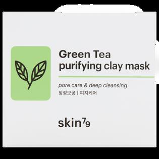 Skin79_Green Tea_peeling-maska oczyszczająco-odżywcza do twarzy, 100 ml