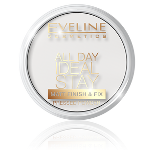 Eveline_All Day Ideal Stay_puder utrwalający matt 60, 14 ml