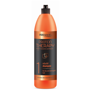 Prosalon_Protein Therapy_szampon do włosów odbudowujący, 1000 ml