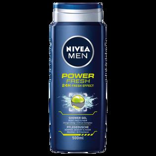 Nivea Men_Power Refresh_żel pod prysznic męski, 500 ml