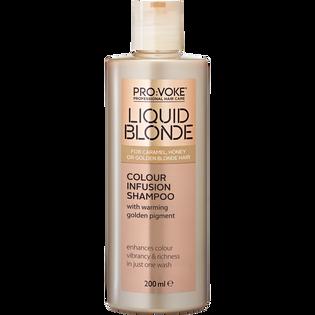 Provoke_Liquid Blonde_szampon aktywujący kolor włosów blond, 200 ml