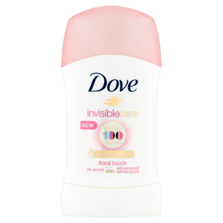 Dove_Invisible Care_antyperspirant damski w sztyfcie, 40 ml