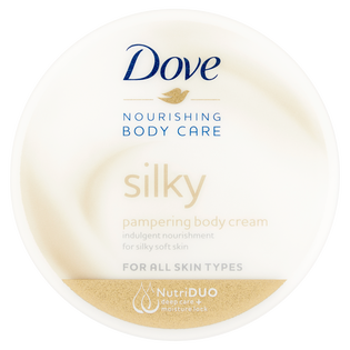 Dove_Nourishing Body Care Silky_odżywczy krem do ciała, 300 ml_1