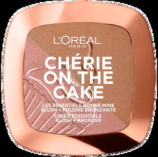 L'Oréal Paris_Cherry The Cake Blush Bronzer_bronzer-róż do twarzy, 9 g