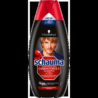 Schauma For Men_Carbon Force_szampon do włosów dla mężczyzn, 400 ml