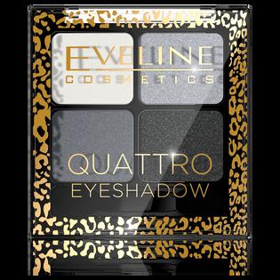 Eveline_Quattro Eyeshadow_paleta cieni do powiek 11, 5 g