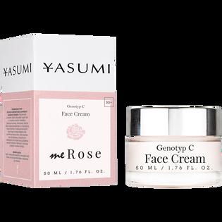 Yasumi_meRose Genotyp C_łagodzący krem z olejkiem różanym do twarzy, 50 ml