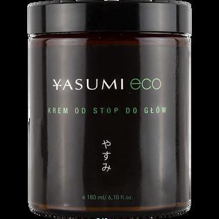 Yasumi_Eco_odżywczy krem do kompleksowej pielęgnacji twarzy i ciała, 180 ml