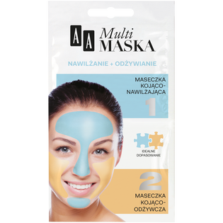 AA_Multimaska_maseczka do twarzy, 2x 5ml/ 1 opak.