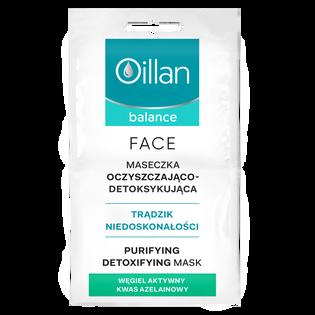 Oillan_Balance_oczyszczająco-detoksykująca maska do twarzy, 10 ml