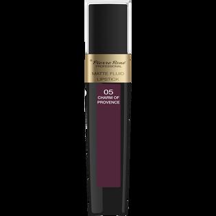 Pierre Rene_Matte Fluid Lipstick_pomadka w płynie do ust charm of provence 05, 6 ml