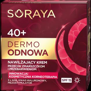 Soraya_Dermo Odnowa_nawilżający krem do twarzy na dzień 40+, 50 ml