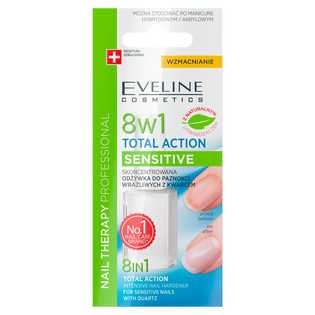 Eveline_Sensitive Total Action_odżywka do paznokci 8w1, 12 ml_2