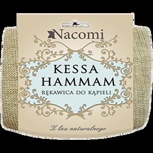 Nacomi_peelingująca rękawica do kąpieli i masażu, 1 szt.