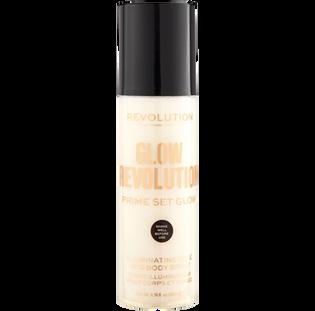 Revolution Makeup_Eternal Gold_rozświetlająca mgiełka utrwalająca makijaż, 200 ml