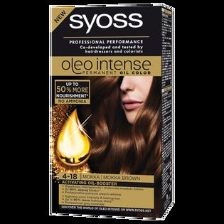 Syoss_Oleo Intense_farba do włosów 4-18 mokka, 1 opak.