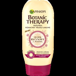 Garnier Botanic Therapy_Olejek rycynowy i migdał_odżywka do włosów osłabionych i łamliwych, 200 ml