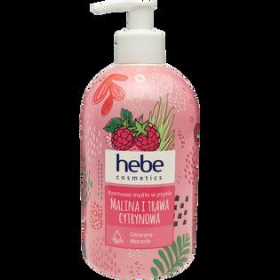 Hebe Cosmetics_Malina i trawa cytrynowa_kremowe mydło w płynie, 500 ml