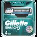 Gillette_Mach 3_wkłady do maszynek do golenia, 4 szt./1 opak._1