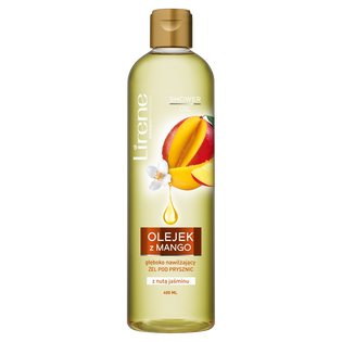 Lirene_Mango & Jaśmin_żel z olejkiem pod prysznic, 400 ml