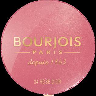 Bourjois_Little Round Pot Blusher_róż do policzków 34 rose d'or, 2,5 g
