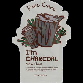 Tony Moly_I'm Real_oczyszczająca maska z naturalnym ekstraktem z węgla, 21 g