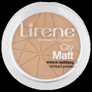 Lirene_City Matt_mineralny puder w kamieniu do twarzy beżowy 03, 9 g