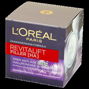 L'Oréal Paris_Revitalift Filler_krem przeciwko oznakom starzenia ze skoncentrowanym kwasem hialuronowym 40+, 50 ml