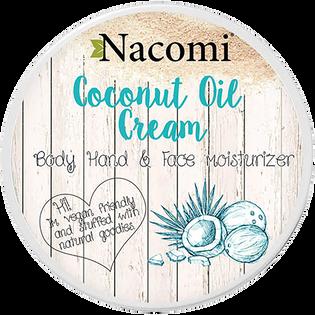 Nacomi_Coconut Cream_krem kokosowy do ciała o działaniu nawilżającym, łagodzącym i regenerującym, 100 ml