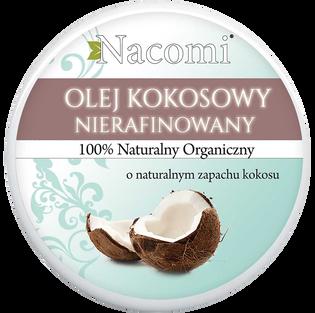 Nacomi_nierafinowany olej kokosowy do ciała, 100 ml