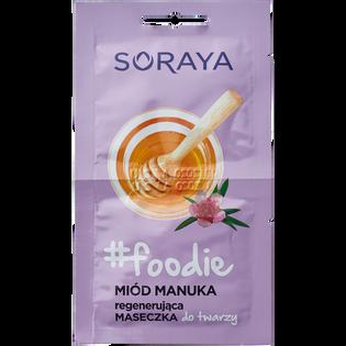 Soraya_#foodie Miód Manuka_zestaw: regenerujący krem do rąk, 75 ml + regenerująca maseczka do twarzy, 10 ml + zmiękczający peeling do stóp, 75 ml_4