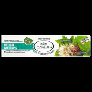 L'Angelica_Natural Whitening_wybielająca ziołowa pasta do zębów, 75 ml