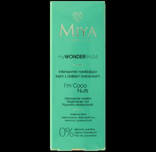 Miya Cosmetics_myWONDERbalm_krem do twarzy intensywnie nawilżający z olejkiem kokosowym, 75 ml_2