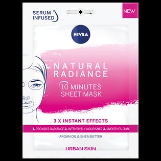 Nivea_Urban Skin Natural Radiance_nawilżająca maska do twarzy w płachcie, 28 ml