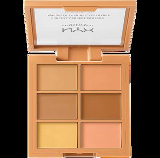 NYX Professional Makeup_Conceal, Correct, Contour Palette!_paleta korektorów do twarzy medium, 1,5 g_2