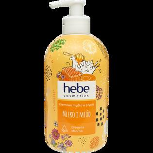 Hebe Cosmetics_Mleko i miód_kremowe mydło w płynie, 500 ml_1