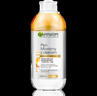 Garnier_Skin Naturals_płyn micelarny z olejkiem do demakijażu twarzy, 400 ml