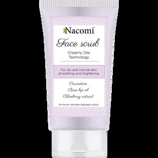 Nacomi_peeling do twarzy z korundem o działaniu wygładzającym, 75 ML