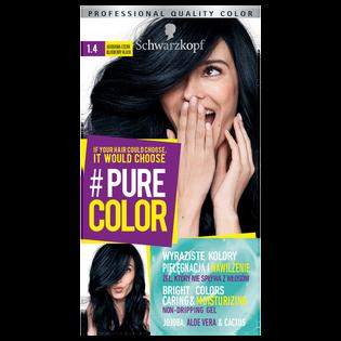 Schwarzkopf_Pure Color_farba do włosów 1.4 jagodowa czerń, 1 opak.