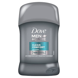 Dove Men_Care Clean Comfort_antyperpirant męski w sztyfcie, 50 ml